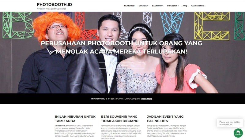 Homepage PhotoboothID Family