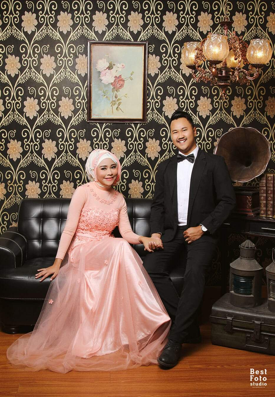 Romantis Indoor Prewedding for Puput and Fadli by BEST FOTO STUDIO 003